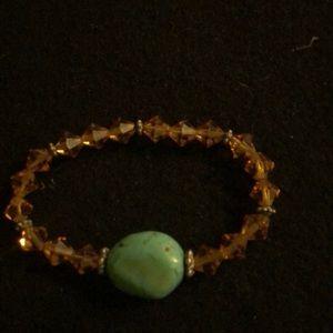 Authentic Turquoise & Citrine bracelet Combo